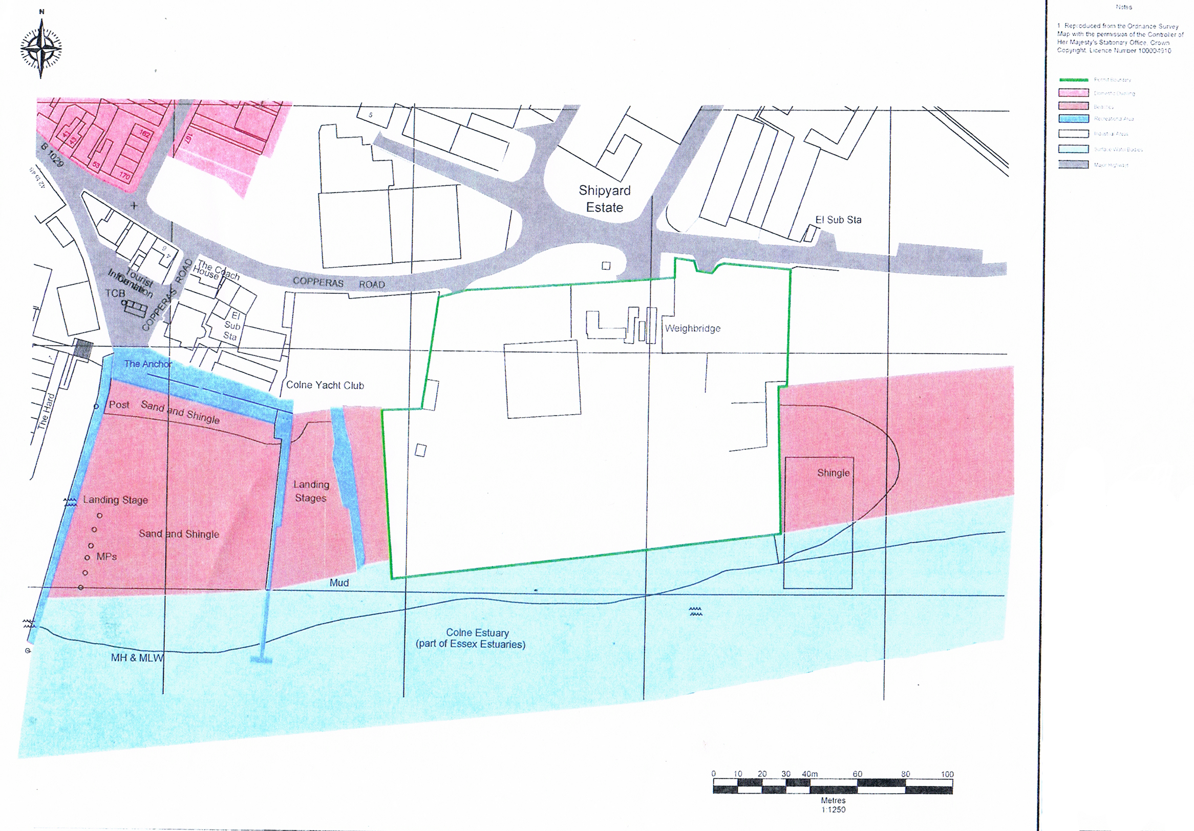 Brightlingsea_Wharf_map